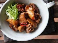 杏鮑菇燒雞