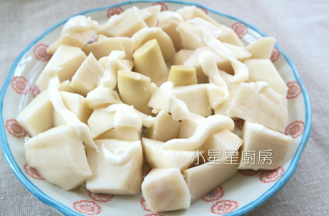 沙拉涼筍(包含鮮筍處理保存方式)