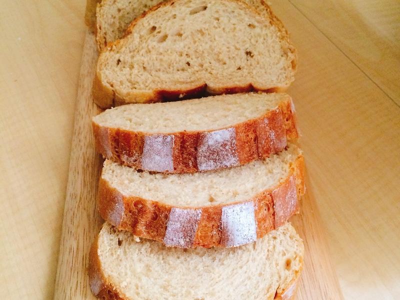 黑糖牛奶哈斯麵包
