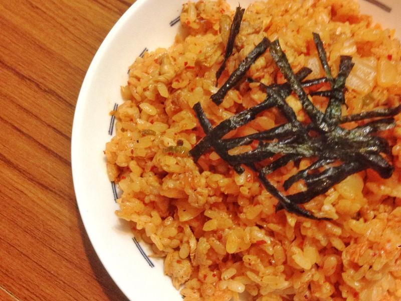【閒妻上菜】韓式泡菜炒飯