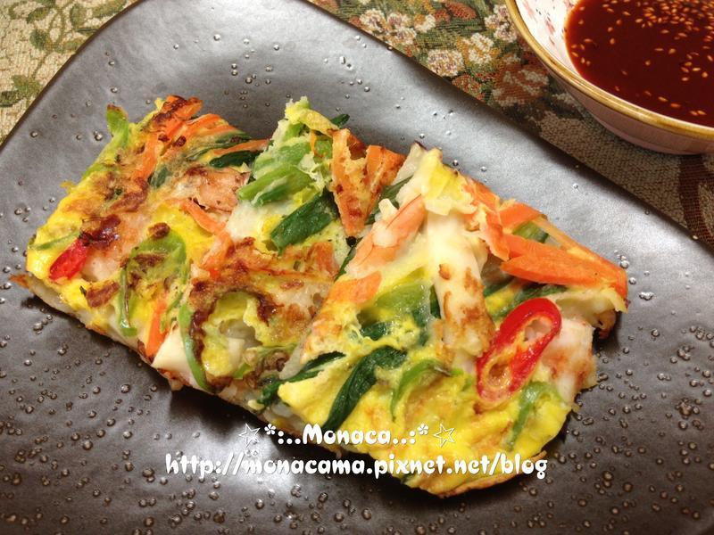 韓式海鮮煎餅해물파전