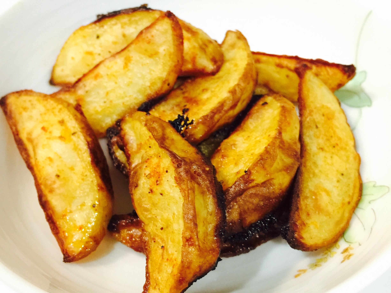 安心香烤薯角