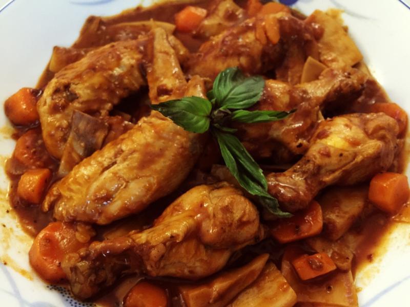 義式風味蕃茄咖喱雞翅