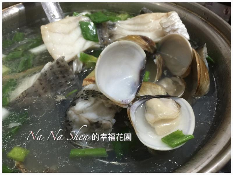 鱸魚蛤仔湯