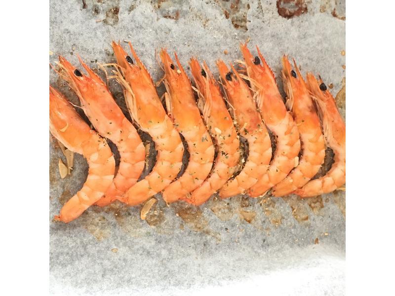 低卡美味-椒香烤醉蝦