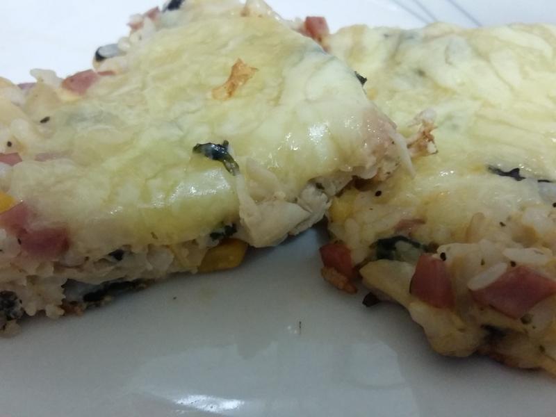 (剩飯料理)米披薩