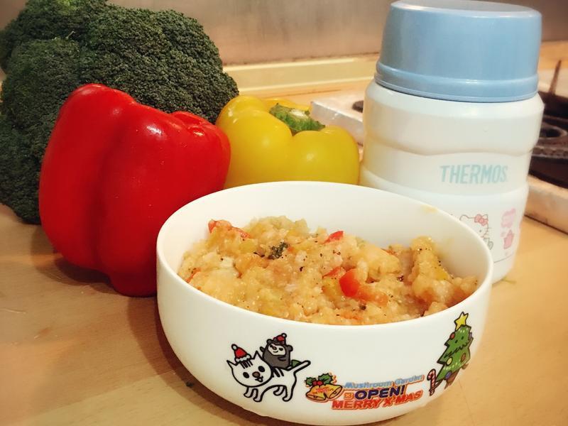 懶人茄汁燉飯*用燜燒罐煮飯