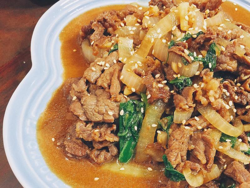 洋蔥燒肉 (牛)