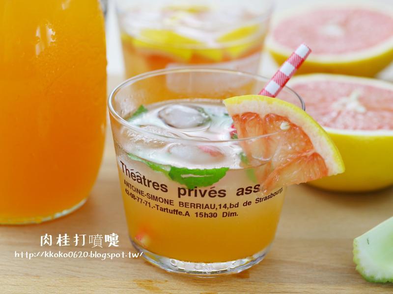 咖啡館飲料的隱藏秘方*葡萄柚糖漿