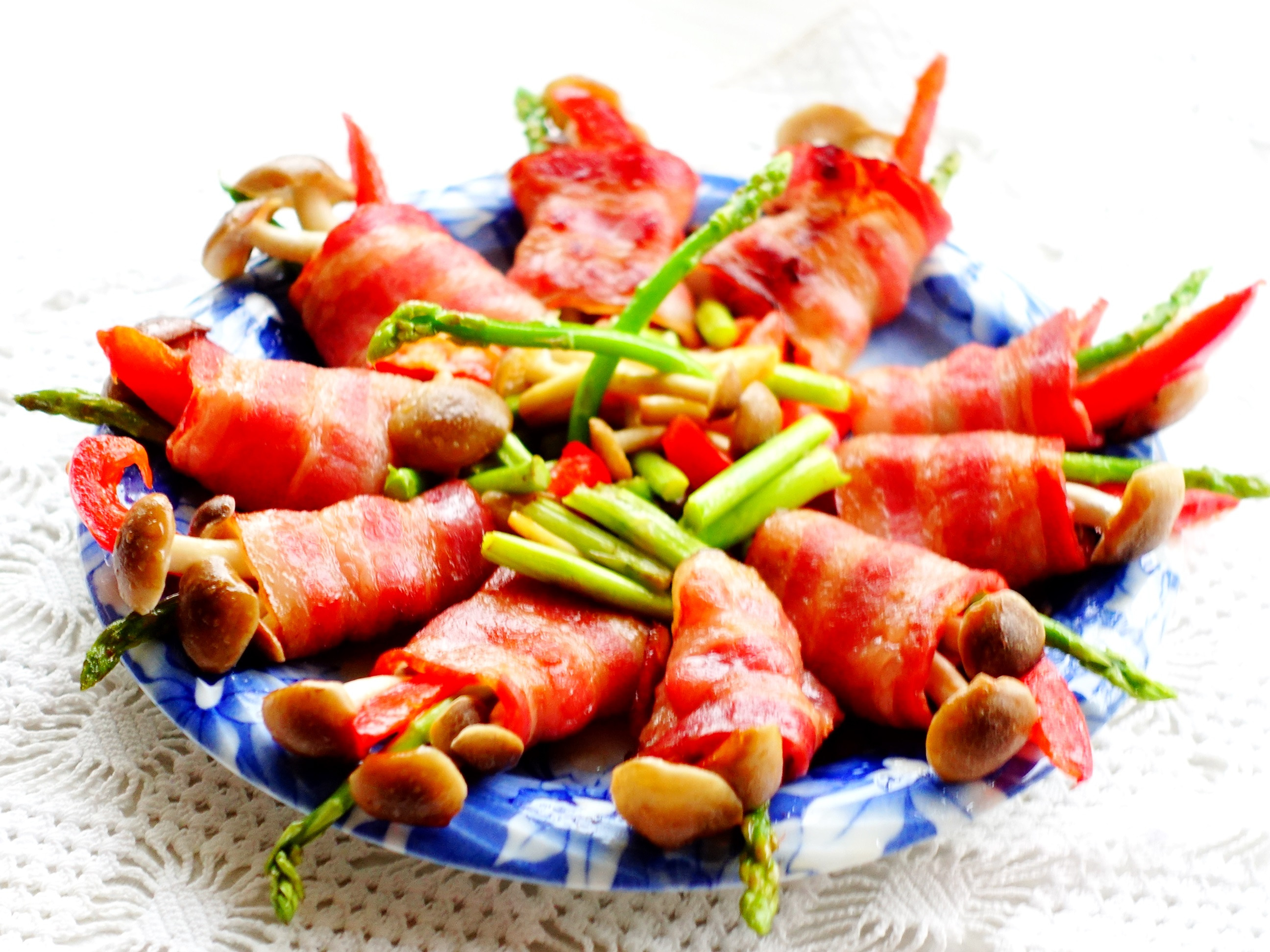 香煎培根蔬菜卷~好菇道美味家廚