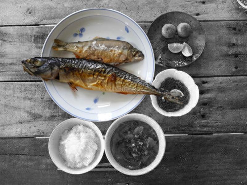 雙烤香魚鯖魚