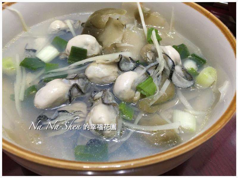 榨菜鮮蚵仔湯