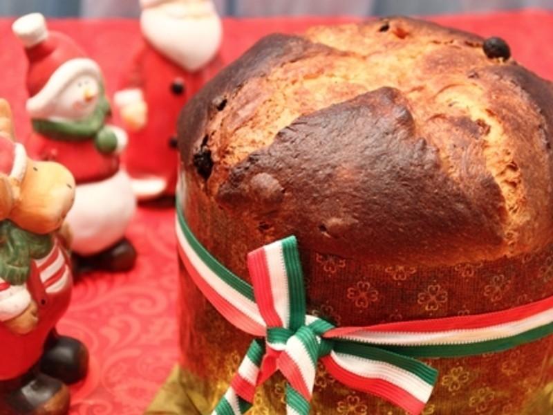 傳統義大利聖誔麵包Panettone