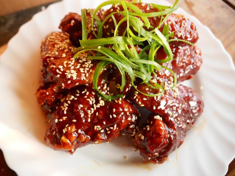 韓式炸雞(紅醬微辣版)