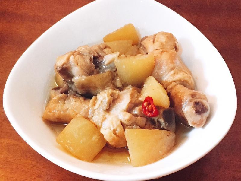 冬瓜燉雞腿肉