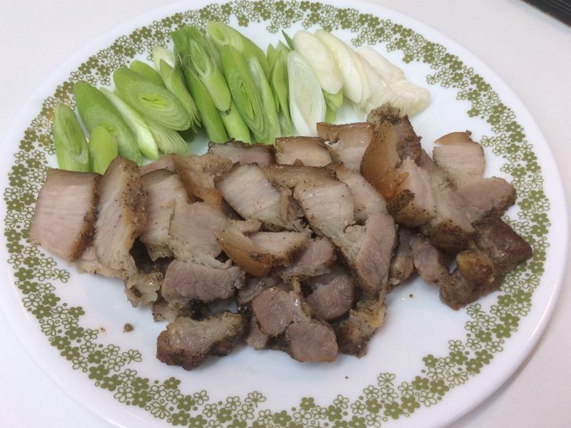 醃五花鹹豬肉