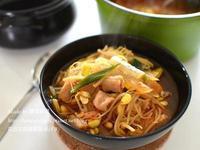 超簡單泡菜黃豆芽湯飯