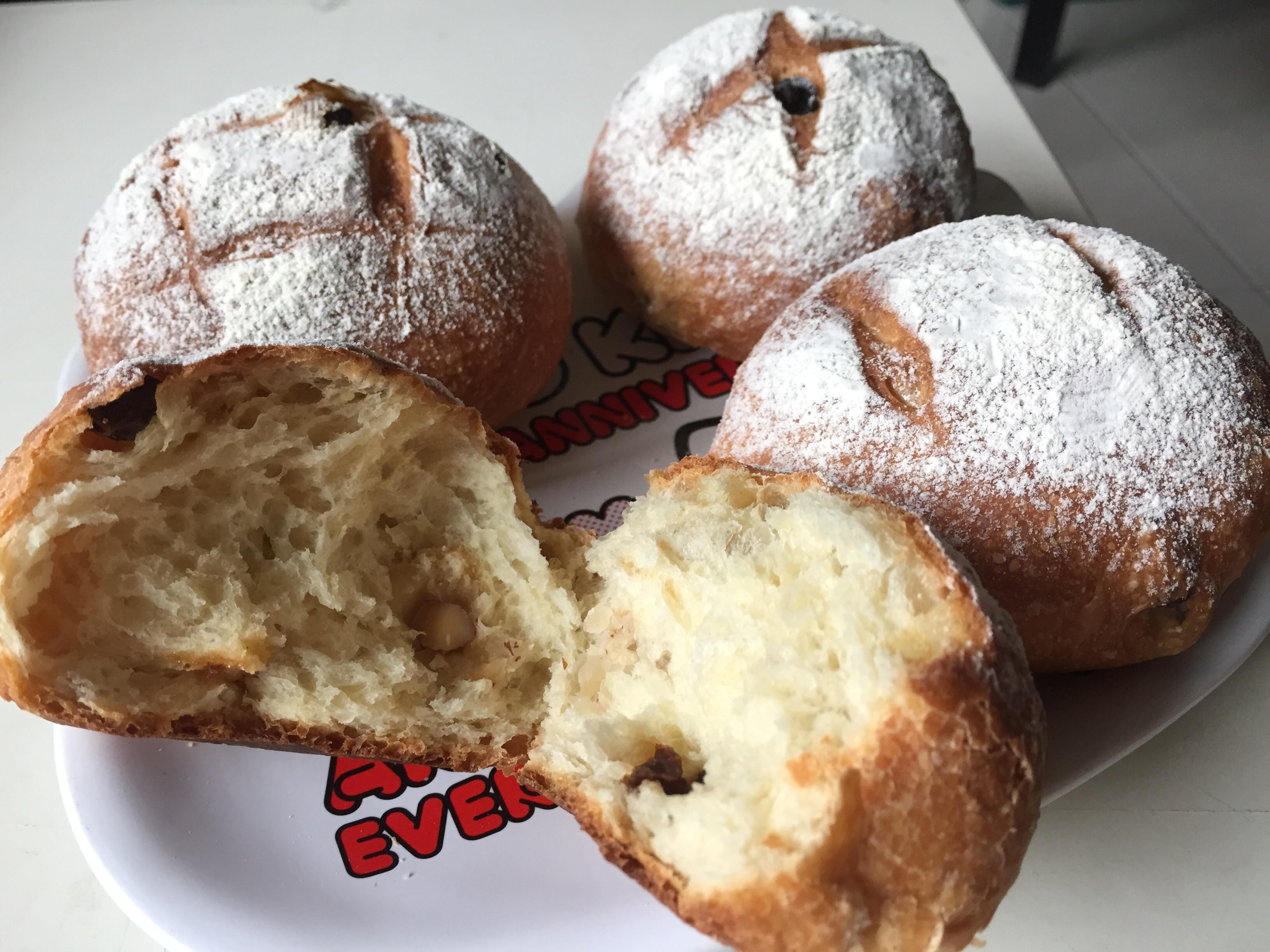 歐式圓麵包(免揉)