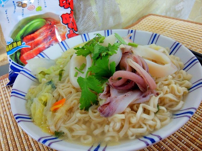小捲海鮮湯麵【記憶中的味味麵】