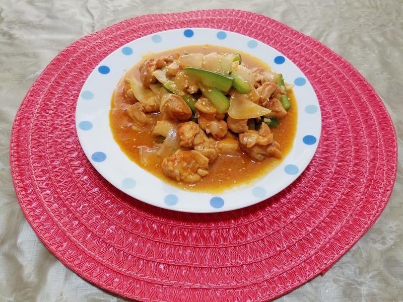 韓式辣炒雞肉