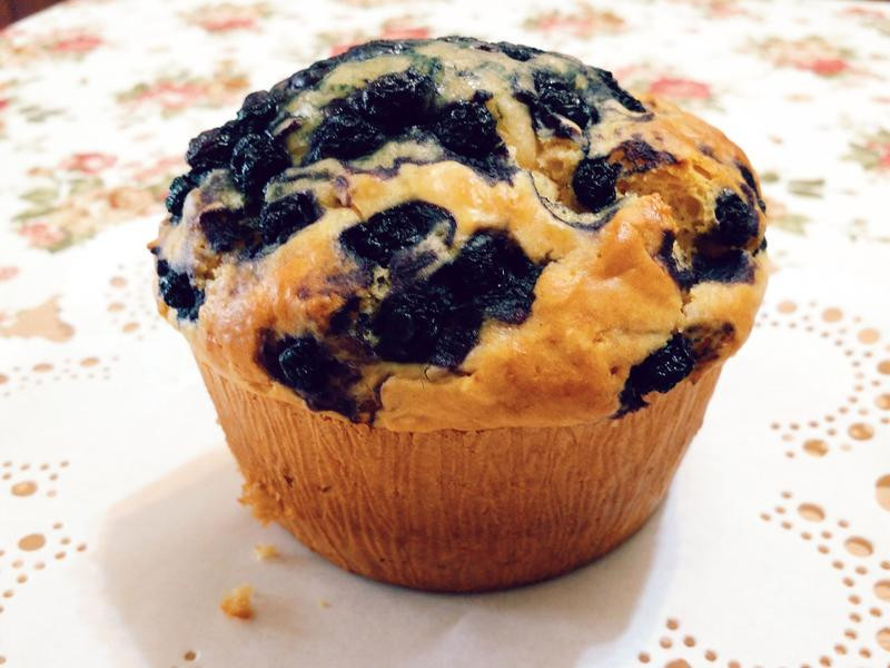 蜂蜜藍莓燕麥瑪芬【低糖少油無奶油】