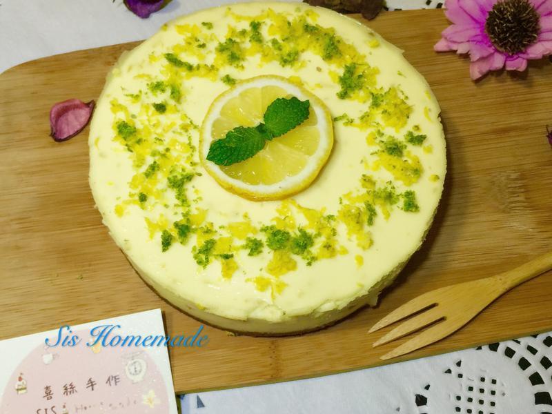 檸檬重乳酪蛋糕