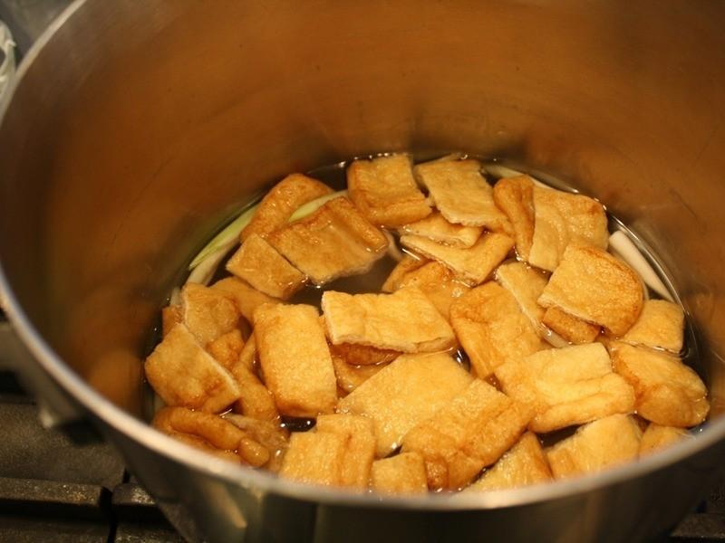香蔥油豆腐皮味噌湯