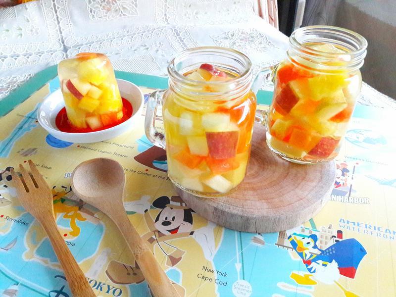 清涼繽紛水果凍【小七野餐趣】