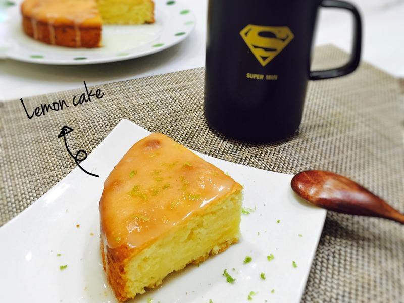 【一顆檸檬磅蛋糕】