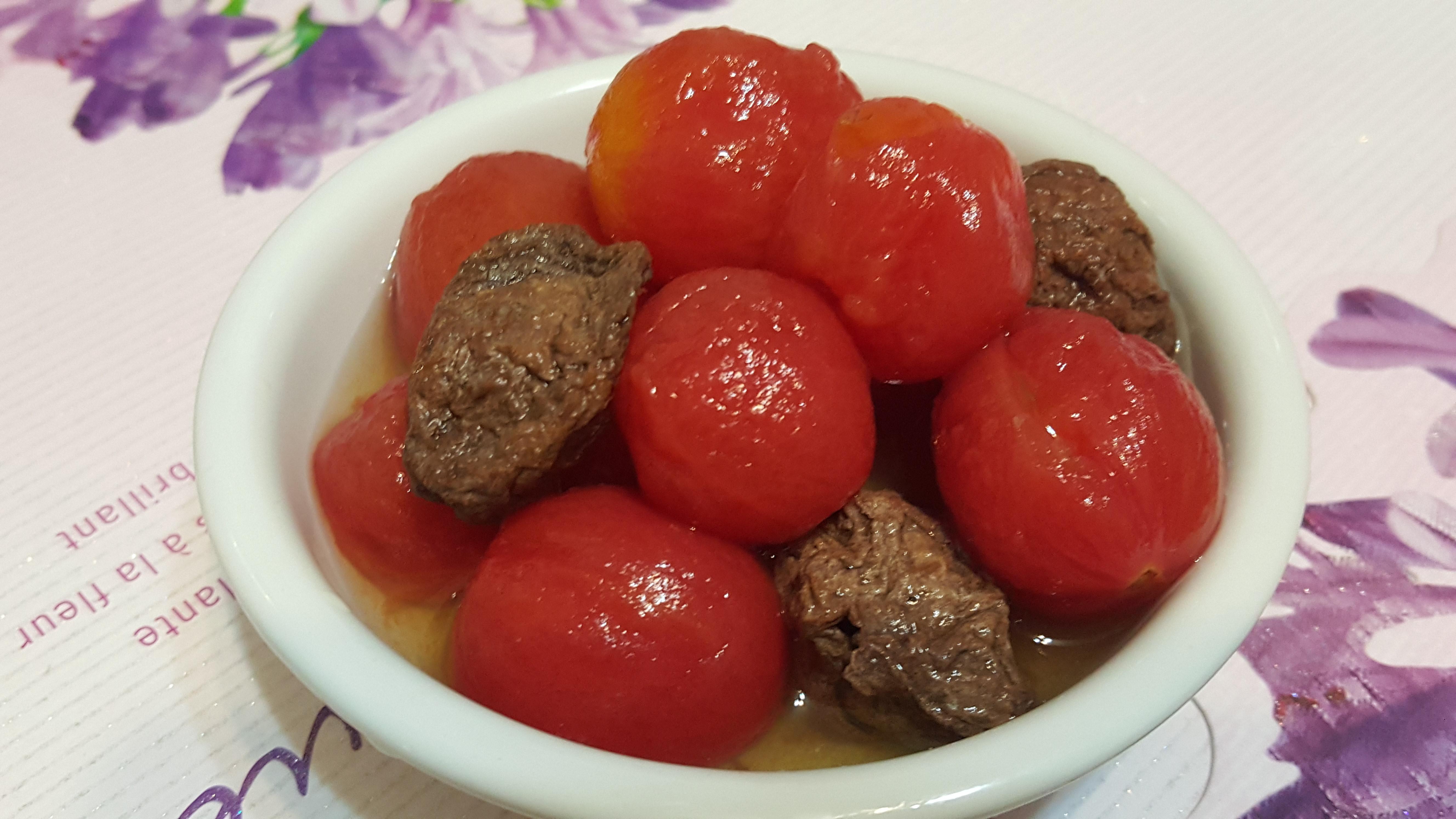 梅子漬小蕃茄