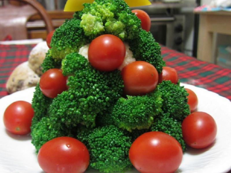 ♥我的手作料理♥ 聖誕樹