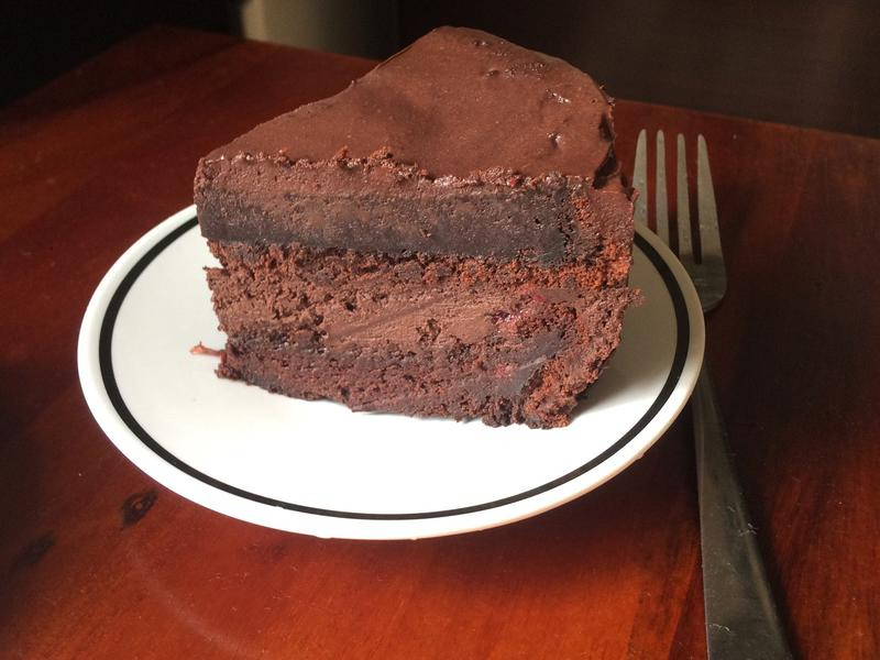 蔓越莓巧克力慕斯蛋糕