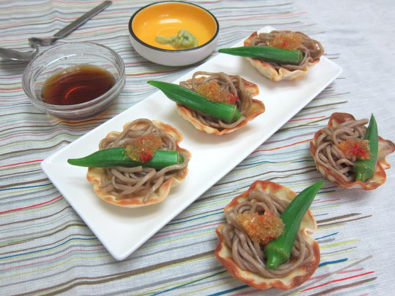 魚卵涼拌蕎麥麵_小七野餐趣