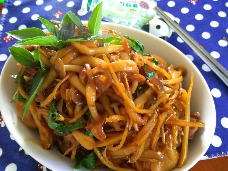 三杯菇菇雞─好菇道美味家廚