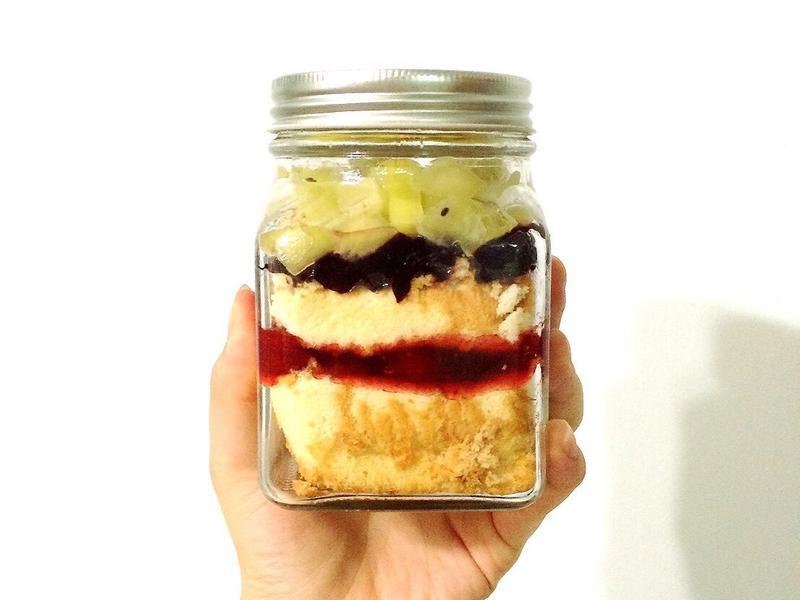 玻璃蛋糕罐