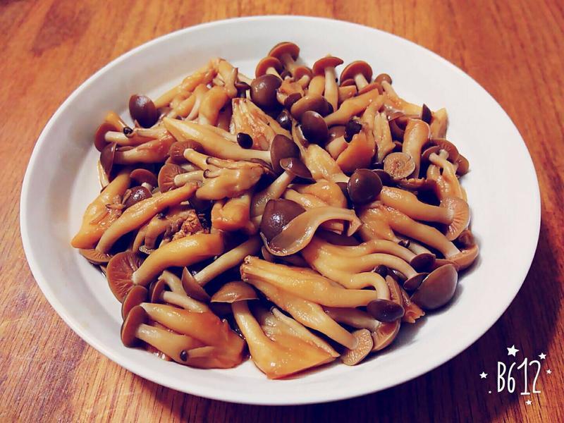 小砵料理:鴻喜菇