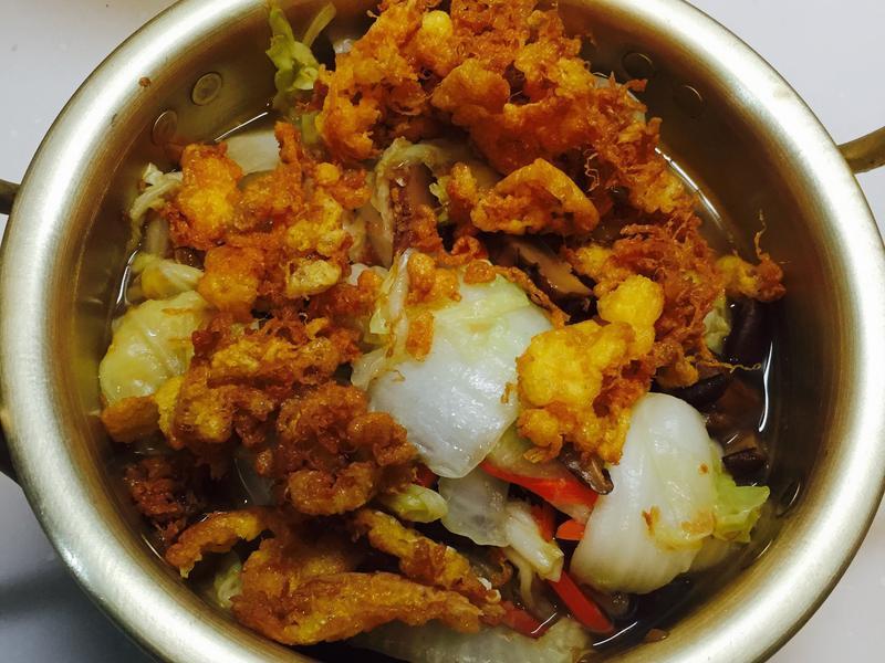 蛋酥魯白菜