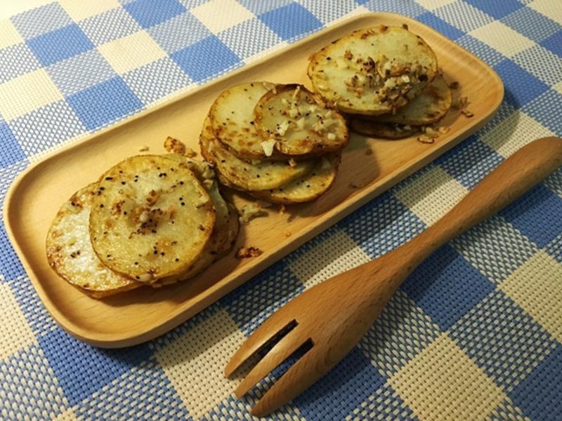 蒜香馬鈴薯 (健康低油版)