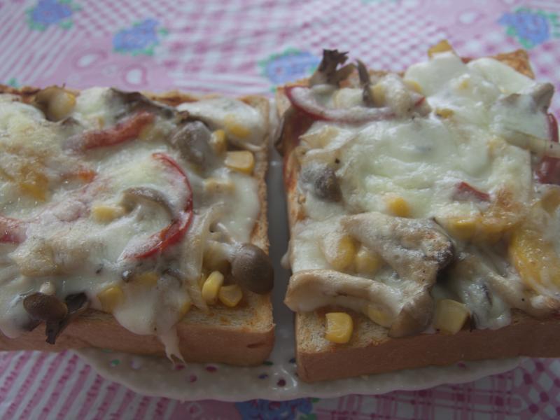 總匯菇菇吐司pizza(好菇道美味家廚)