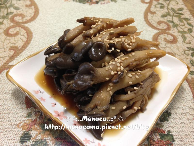 韓式醬煮秀珍菇느타리버섯조림