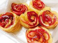 玫瑰蘋果酥塔