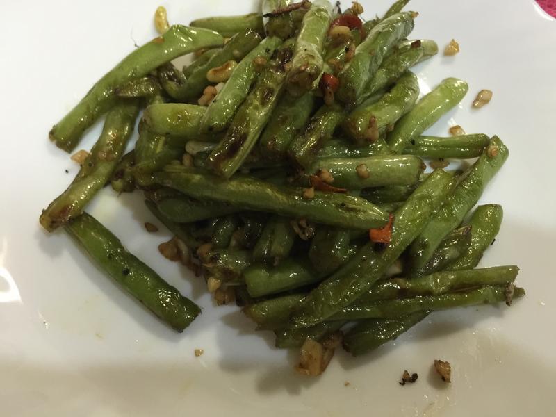 蒜味乾扁四季豆