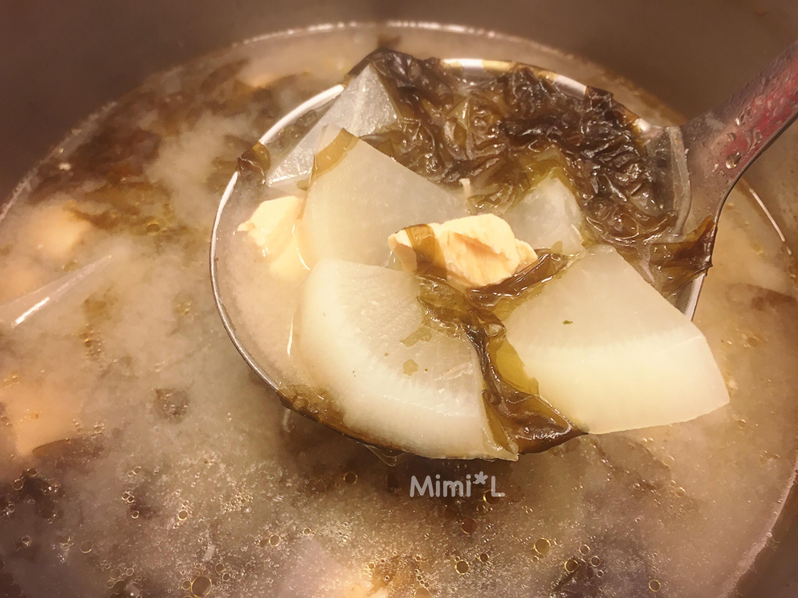 鮭魚蘿蔔味噌湯