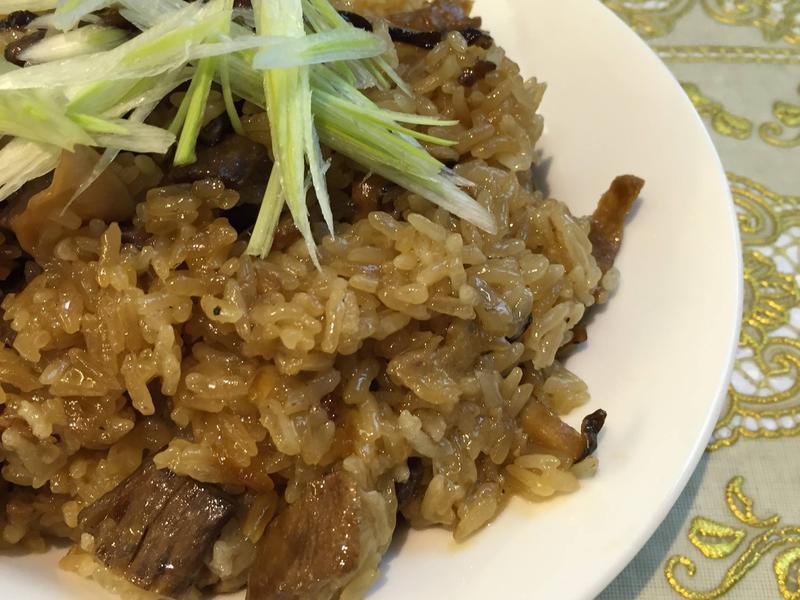 素香菇麻油飯