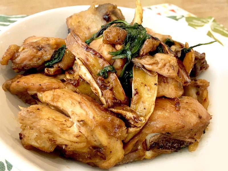 有心食譜:塔香三杯雞