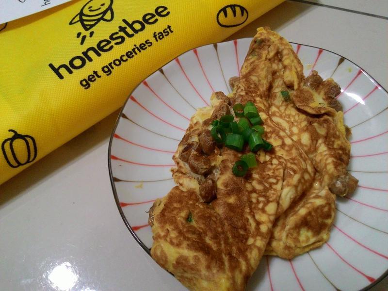 納豆煎蛋【搶鮮料理懶廚房】