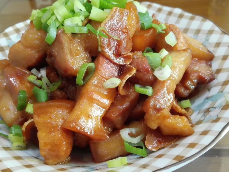 醬燒五花肉(少油版)