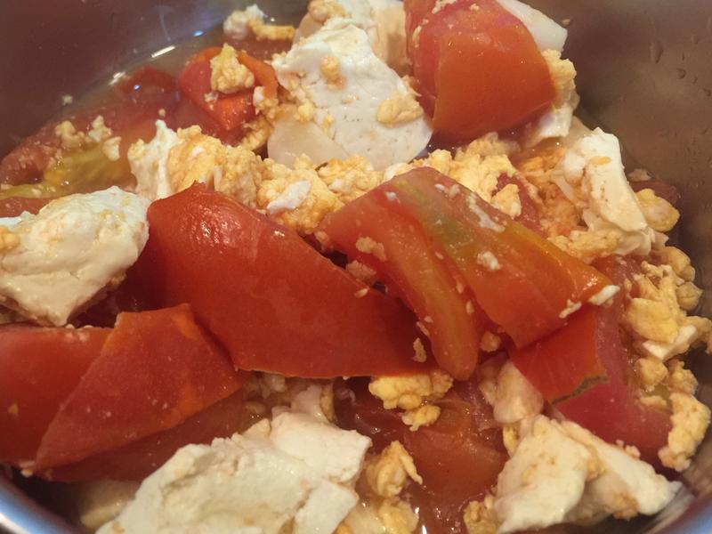 (健康美食革命) 無添加油-蕃茄豆腐蛋