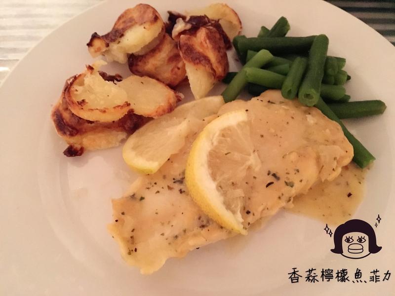 香蒜檸檬魚菲力