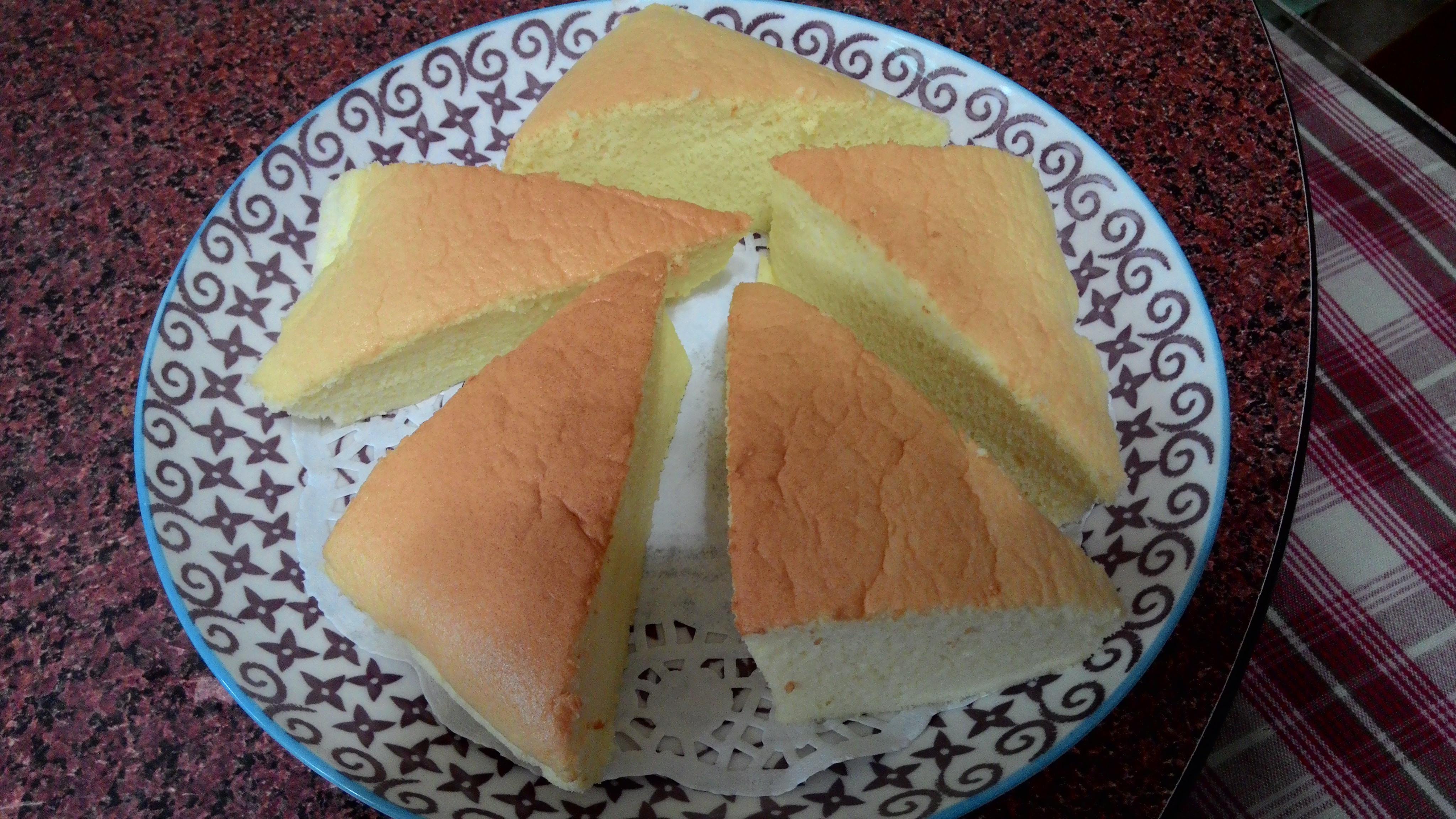 椰奶棉花蛋糕(水浴法)